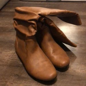 Camel Tall Boots